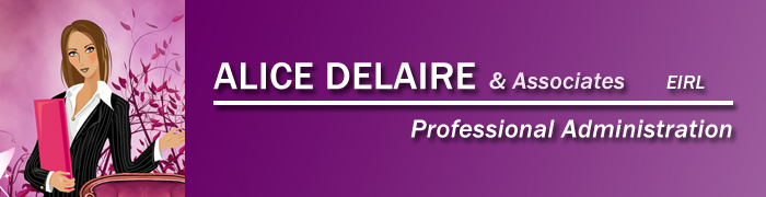 Alice Delaire - Professional Administration for Individuals and Businesses